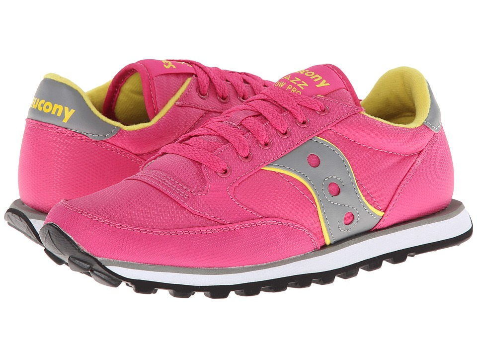 Saucony Originals - Jazz Low Pro Nylon (Pink) Women's Classic Shoes