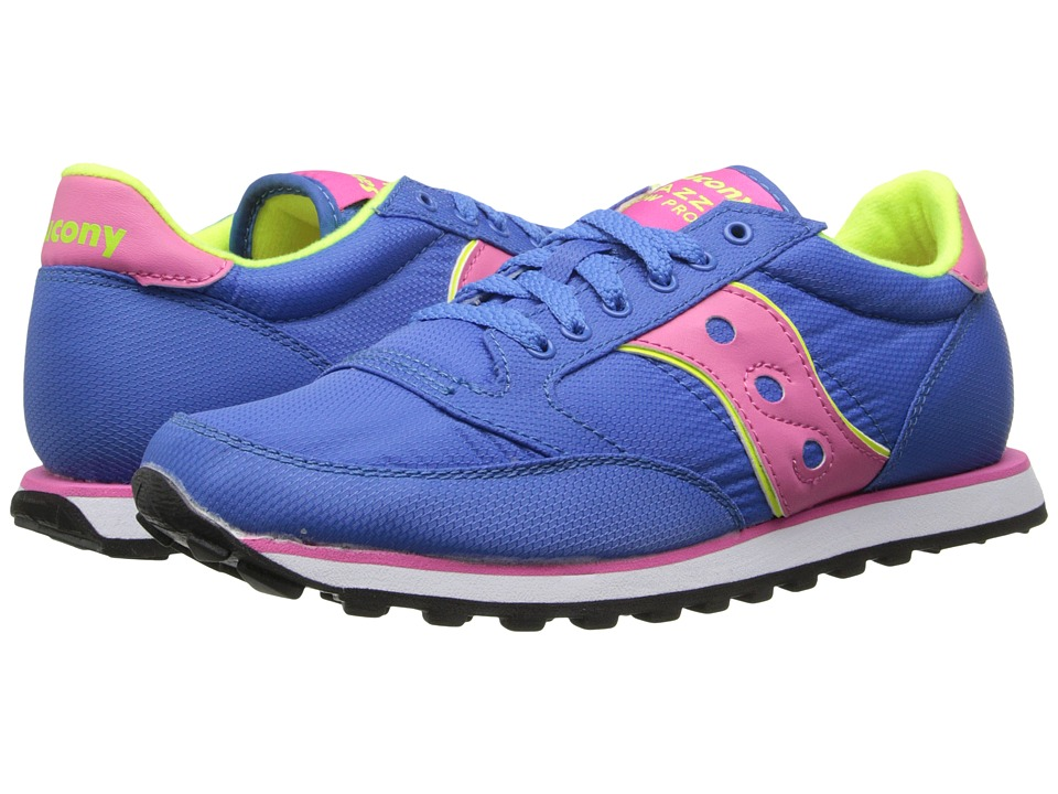 Saucony Originals - Jazz Low Pro Nylon (Blue) Women