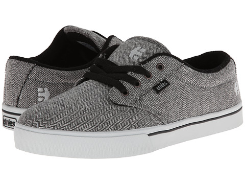 etnies - Jameson 2 Eco (Grey/Grey/Black) Men's Skate Shoes