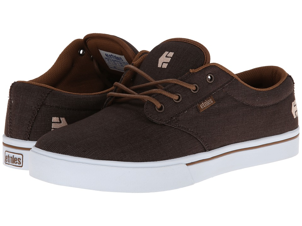 etnies - Jameson 2 Eco (Brown) Men's Skate Shoes