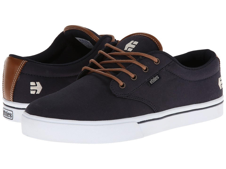 etnies - Jameson 2 Eco (Navy) Men's Skate Shoes