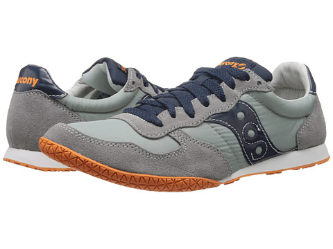 Saucony Originals - Bullet (Grey/Blue 64) Men's Classic Shoes