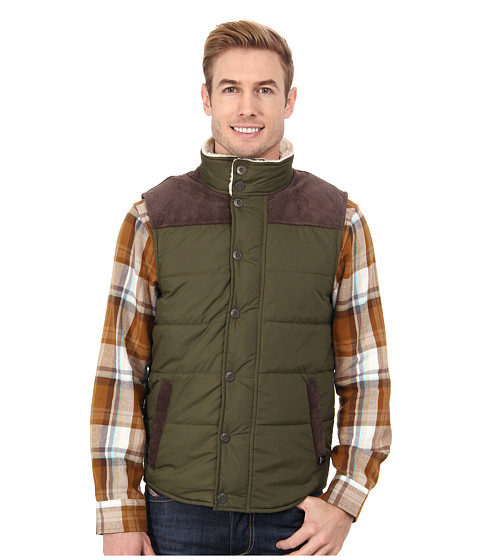 Prana - Waylen Vest (Cargo Green) Men