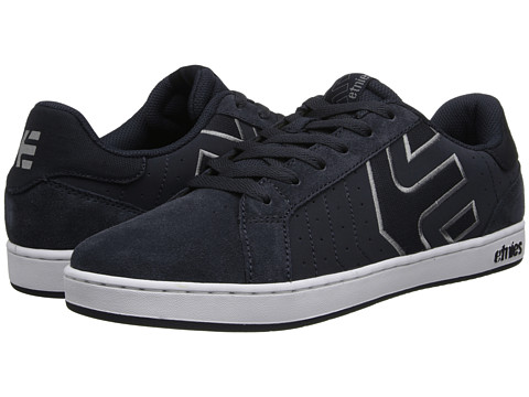 etnies - Fader LS (Navy) Men