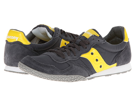 Saucony Originals - Bullet (Charcoal/Yellow 99) Women