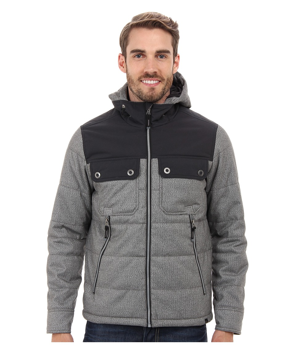 Prana - Argus Jacket (Charcoal) Men's Coat