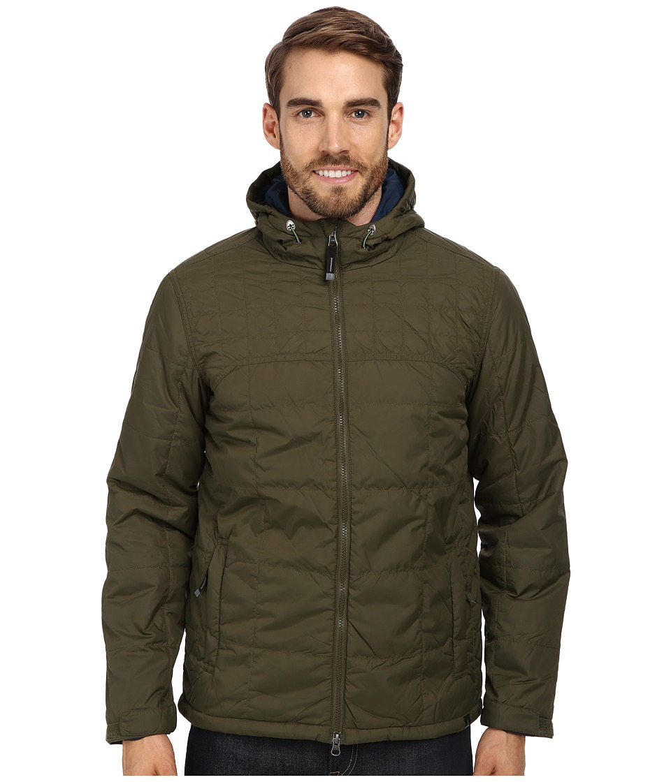 Prana - Redmond Jacket (Cargo Green) Men's Coat