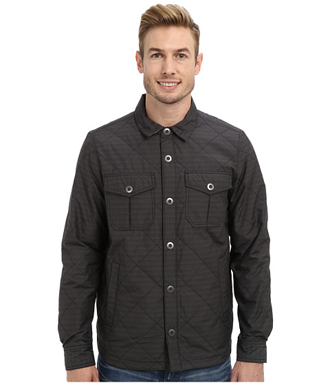 Prana - Murphy Shirt Jacket (Charcoal) Men
