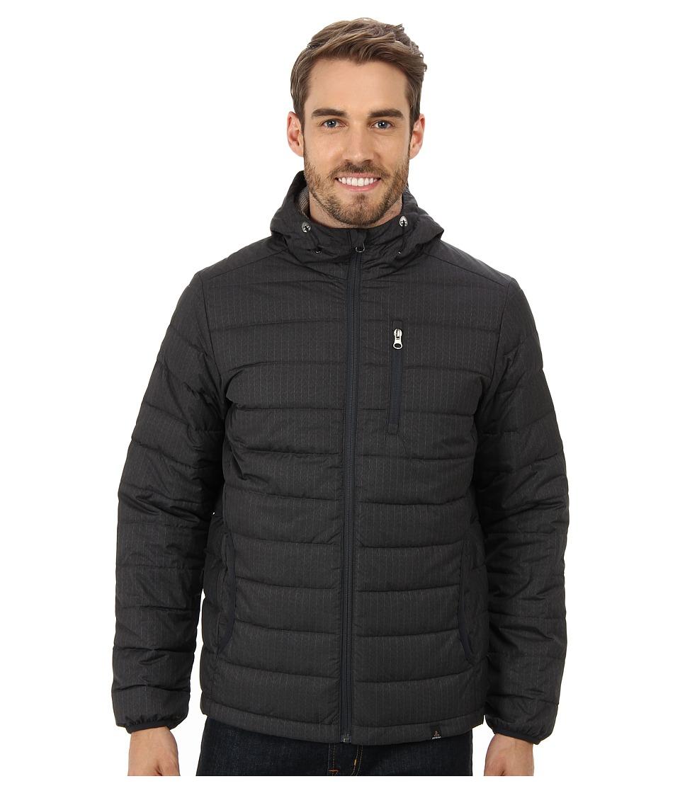 Prana - Lasser Jacket (Charcoal) Men's Coat