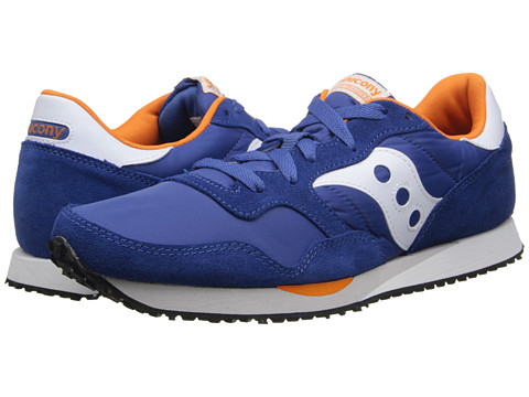 Saucony Originals - DXN Trainer (Blue/Orange) Men
