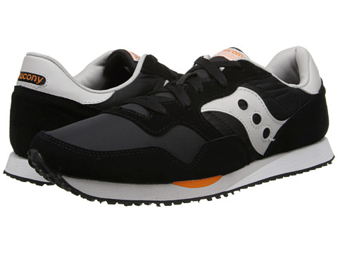 Saucony Originals - DXN Trainer (Black/Orange) Men