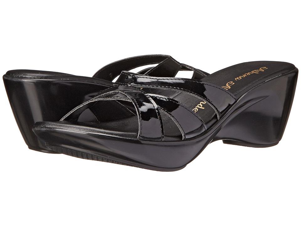 Athena Alexander - Stefan (Black Patent) Women's Sandals