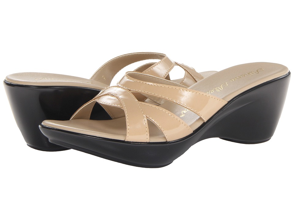 Athena Alexander - Stefan (Nude Patent) Women's Sandals