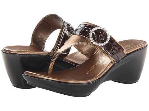 Athena Alexander - Roamer (Bronze) Women's Wedge Shoes