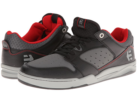 etnies - Drifter (Black/Grey) Men's Skate Shoes