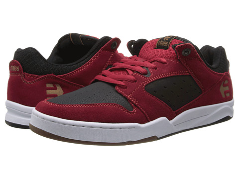 etnies - Drifter (Red/Black) Men's Skate Shoes
