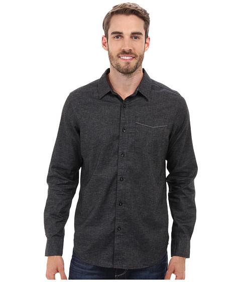 Prana - Sutra Slim Shirt (Black) Men