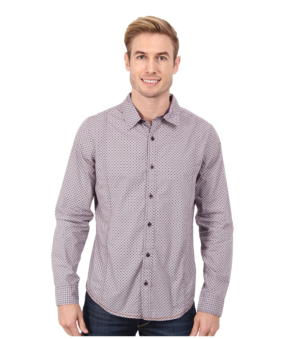 Prana - Lukas Shirt (Thistle) Men's Long Sleeve Button Up