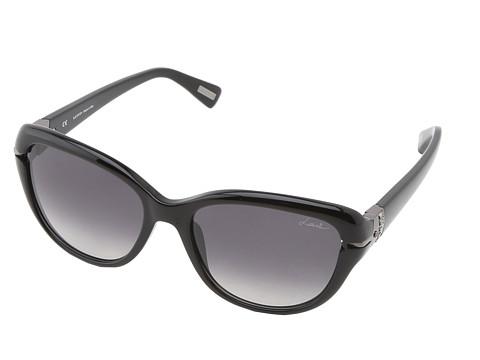 Lanvin - SLN595S (Black/Grey Gradient) Plastic Frame Fashion Sunglasses