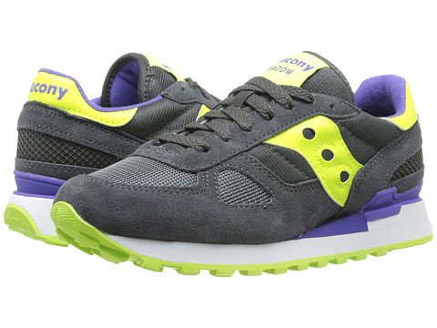 Saucony Originals - Shadow Original (Charcoal/Citron) Women's Classic Shoes