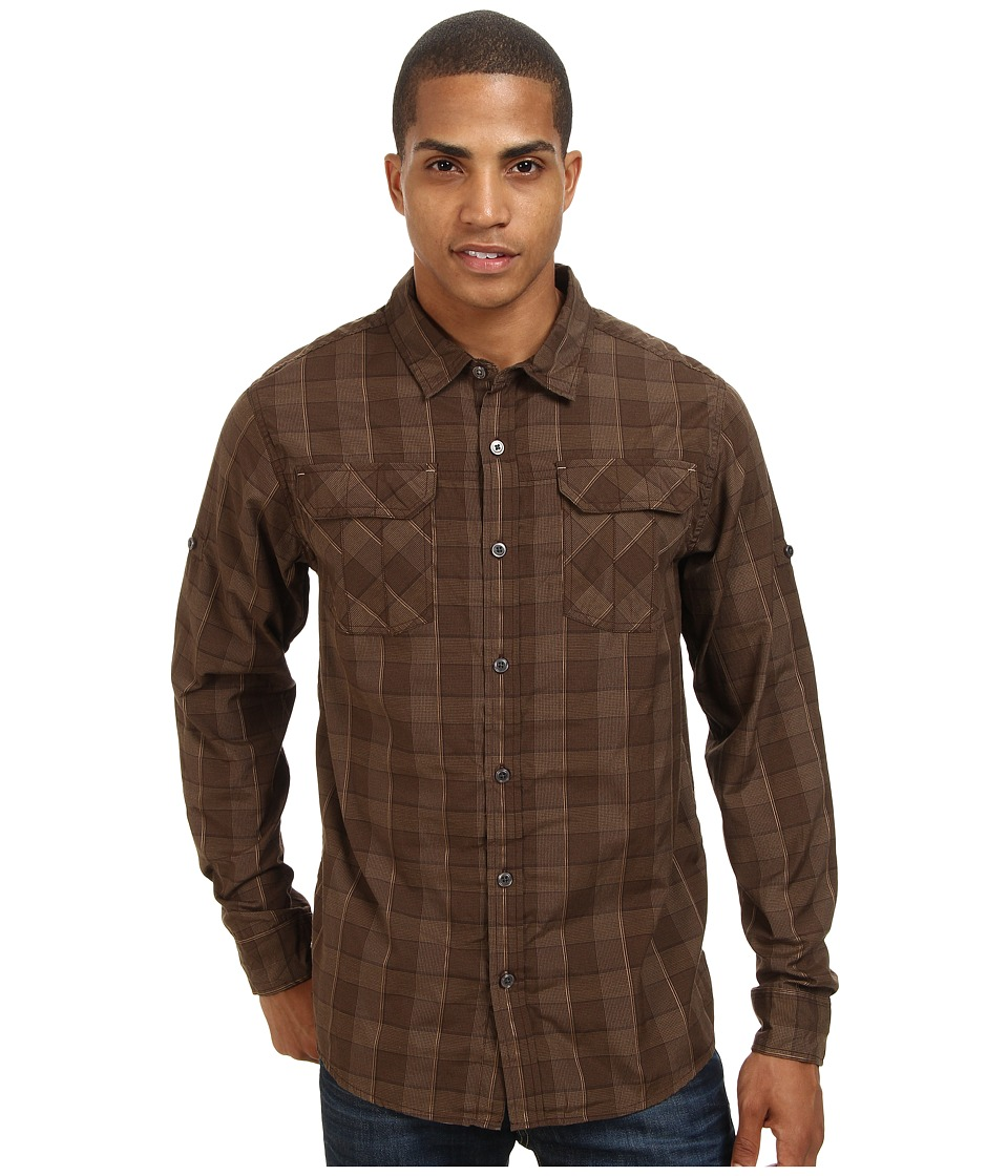 Prana - Terrain Shirt (Brown) Men