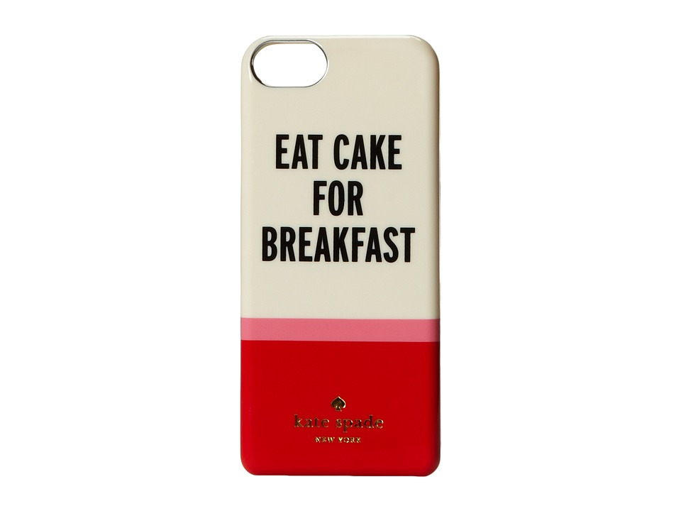 Kate Spade New York - Eat Cake For Breakfast Phone Charger for iPhone 5 and 5s (Multi) Cell Phone Case
