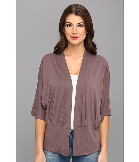 Three Dots - Kimono Wrap (Chantrelle) Women's Sweater