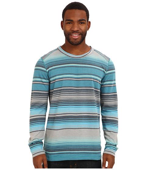 Prana - Tollak Crew (Blue Yonder) Men's Sweatshirt