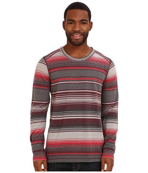 Prana - Tollak Crew (Charcoal) Men's Sweatshirt