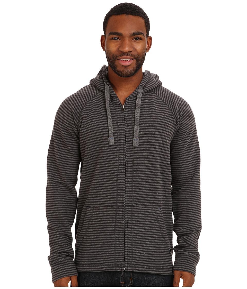 Prana - Kennet Full Zip (Charcoal) Men's Sweatshirt