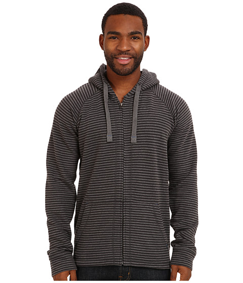 Prana - Kennet Full Zip (Charcoal) Men's Sweatshirt