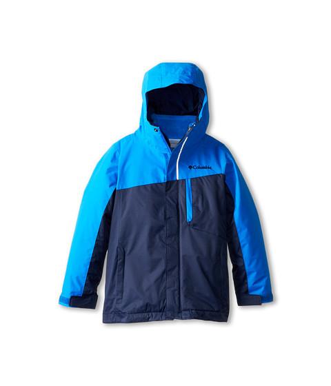 Columbia Kids - Eager Air Interchange (Little Kids/Big Kids) (Hyper Blue/Collegiate Navy) Boy's Coat