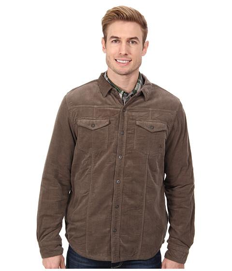Prana - Gomez Shirt Jacket (Mud) Men's Coat