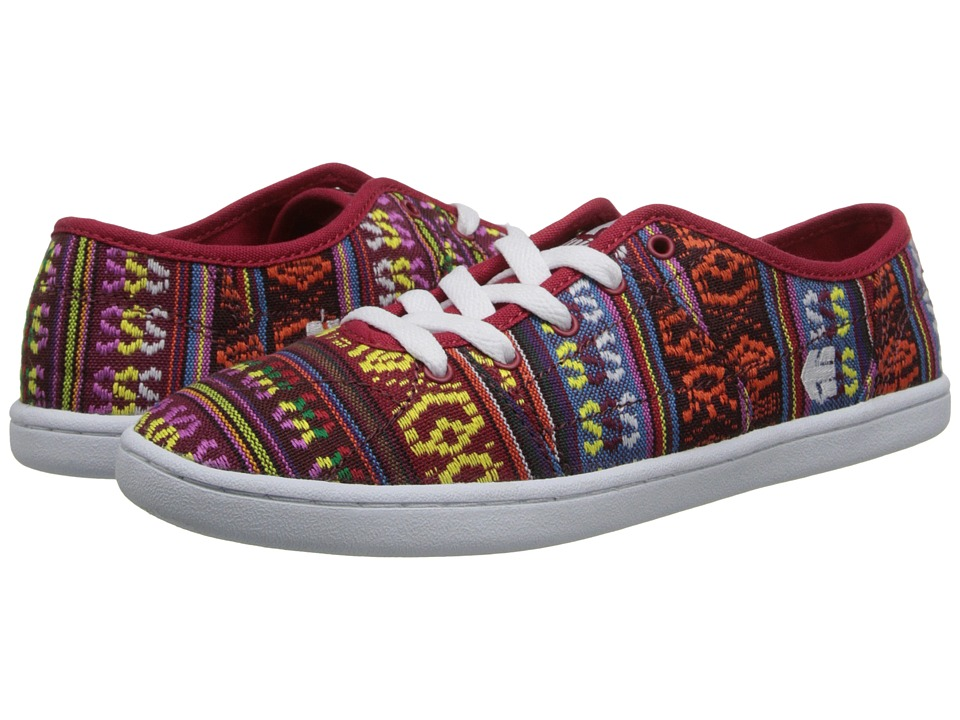 etnies - Senix D Low W's (Red) Women's Skate Shoes