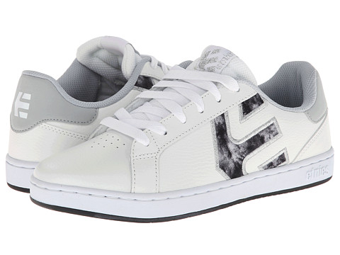 etnies - Fader LS W (White/Grey) Women