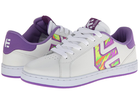etnies - Fader LS W (White/Purple) Women's Skate Shoes