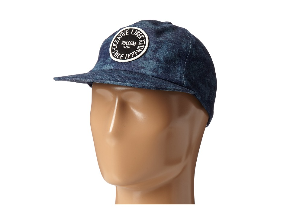 Volcom - Timer Adjustable Hat (Vintage Navy) Caps