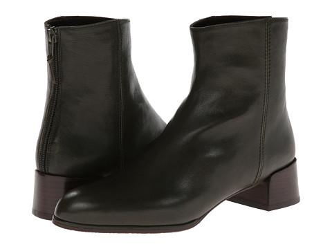 Stuart Weitzman - Modesto (Evergreen Vecchio Nappa) Women's Zip Boots
