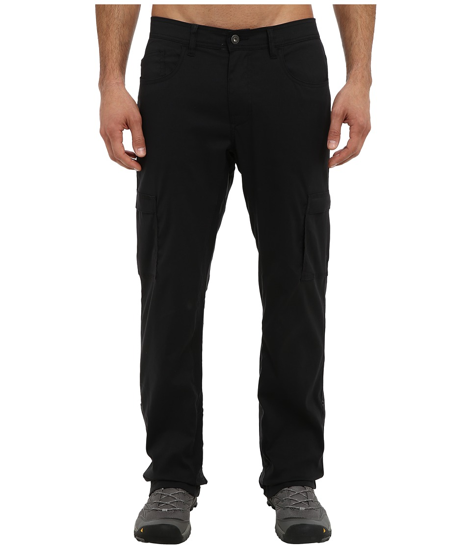 Prana - Stretch Zion Lined Pant (Black) Men