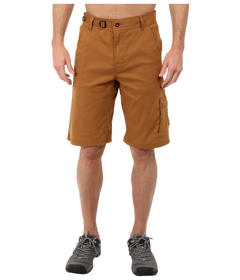 Prana - Stretch Zion Short (Dark Ginger) Men's Shorts