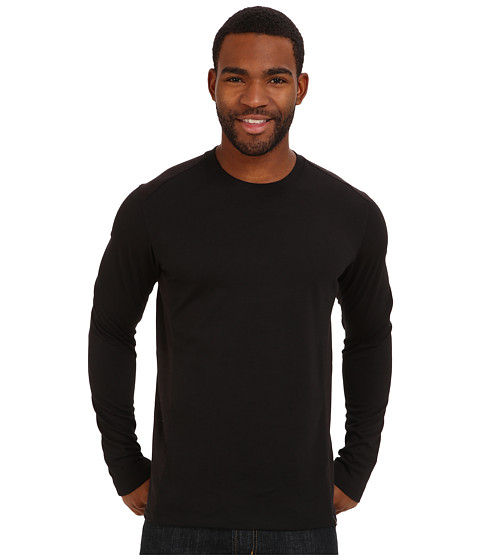 Prana - Porter L/S (Black) Men