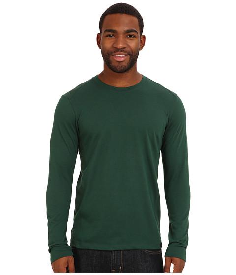 Prana - Porter L/S (Pineneedle) Men's T Shirt