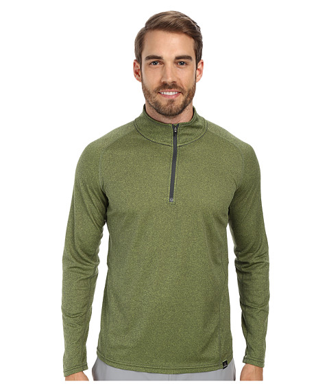 Prana - Orion 1/4 Zip (Pewter) Men's T Shirt