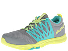 Reebok - Yourflex Trainette 5.0 MT (Flat Grey/Timeless Teal/High Vis Green)
