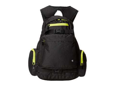 etnies - Solito Backpack (Black/Black) Backpack Bags