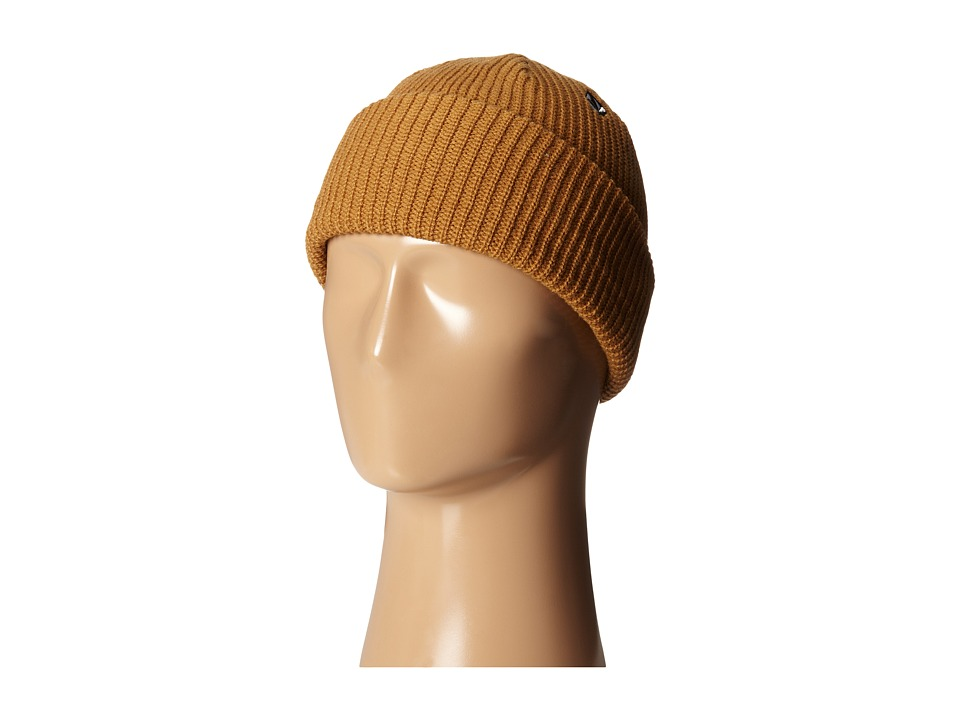 Volcom - Full Stone Beanie (Bear Brown) Beanies