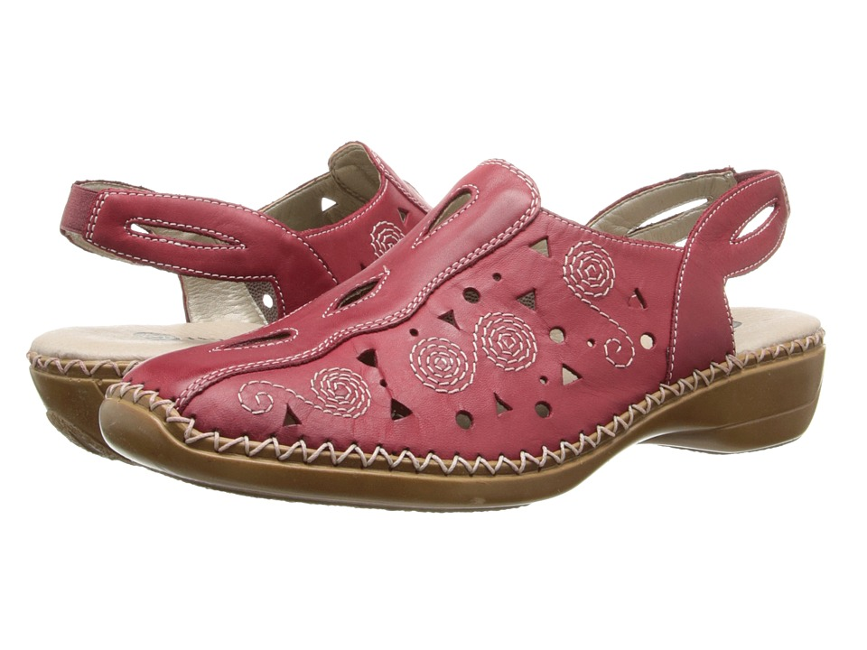 Rieker - D1614 Doris 14 (Red) Women