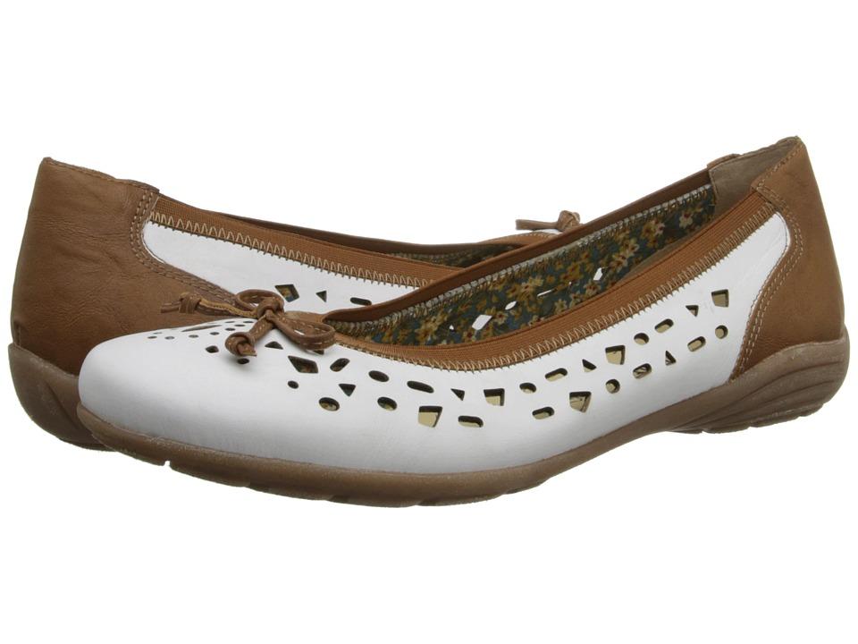 Rieker - D4612 Uma 12 (White) Women's Shoes