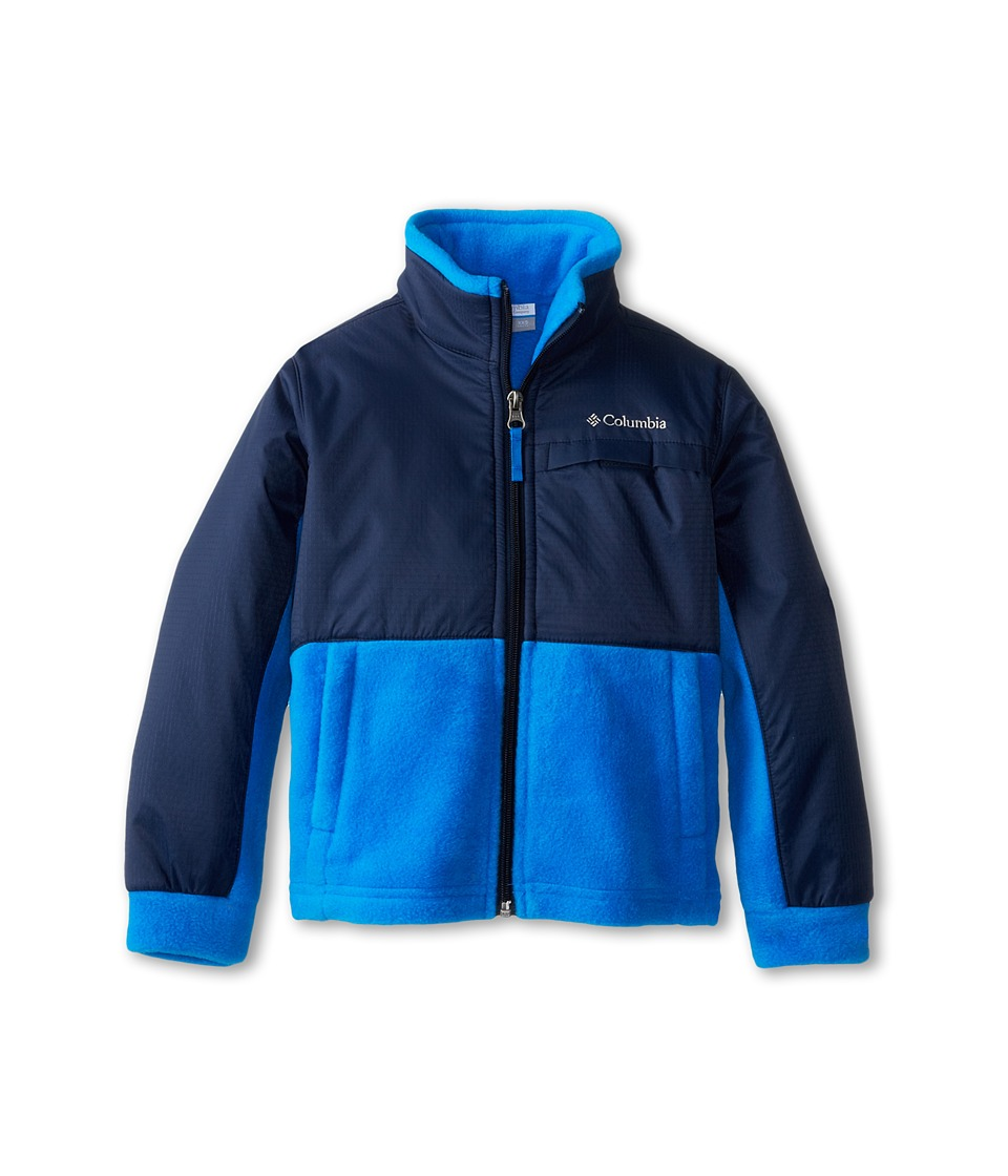 Columbia Kids - Steens Mountain Overlay (Little Kids/Big Kids) (Hyper Blue/Collegiate Navy) Boy's Coat
