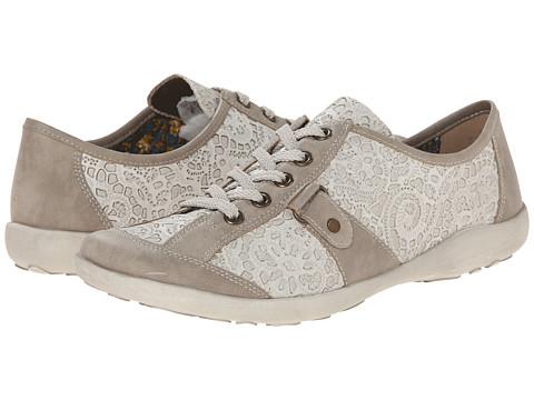 Rieker - R1720 Liv 20 (Elefant) Women's Lace Up Moc Toe Shoes